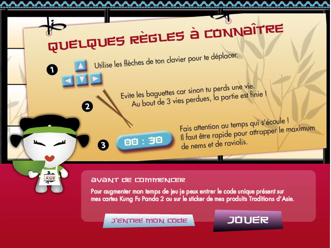 Jeu concours Traditions d'asie