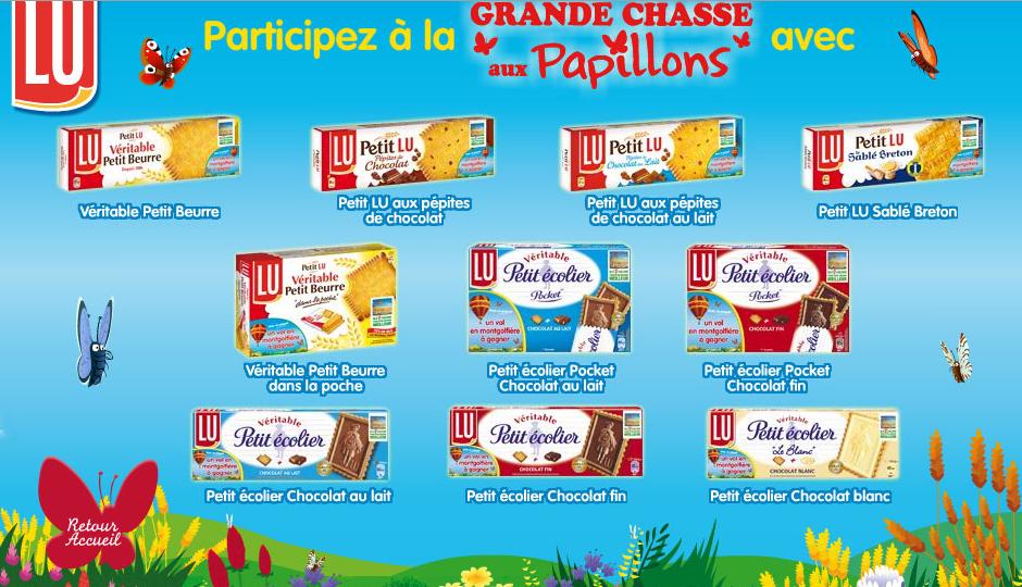 jeu concours Biscuits Petit Lu