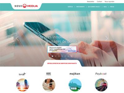 homepage NovaVeolia