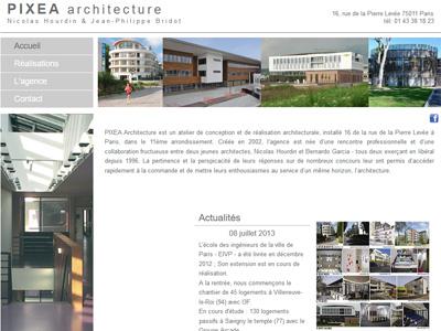 Homepage Pixea