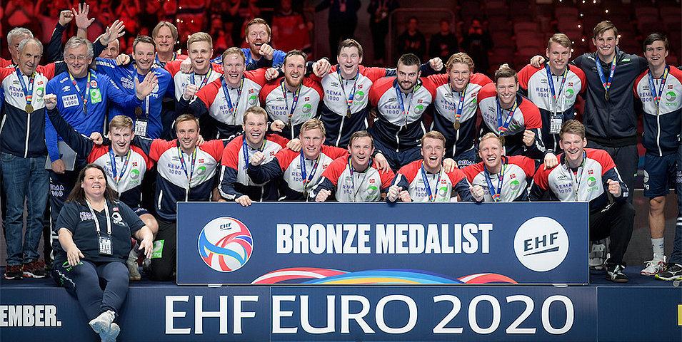 Médaille de bronze pour les Norvégiens