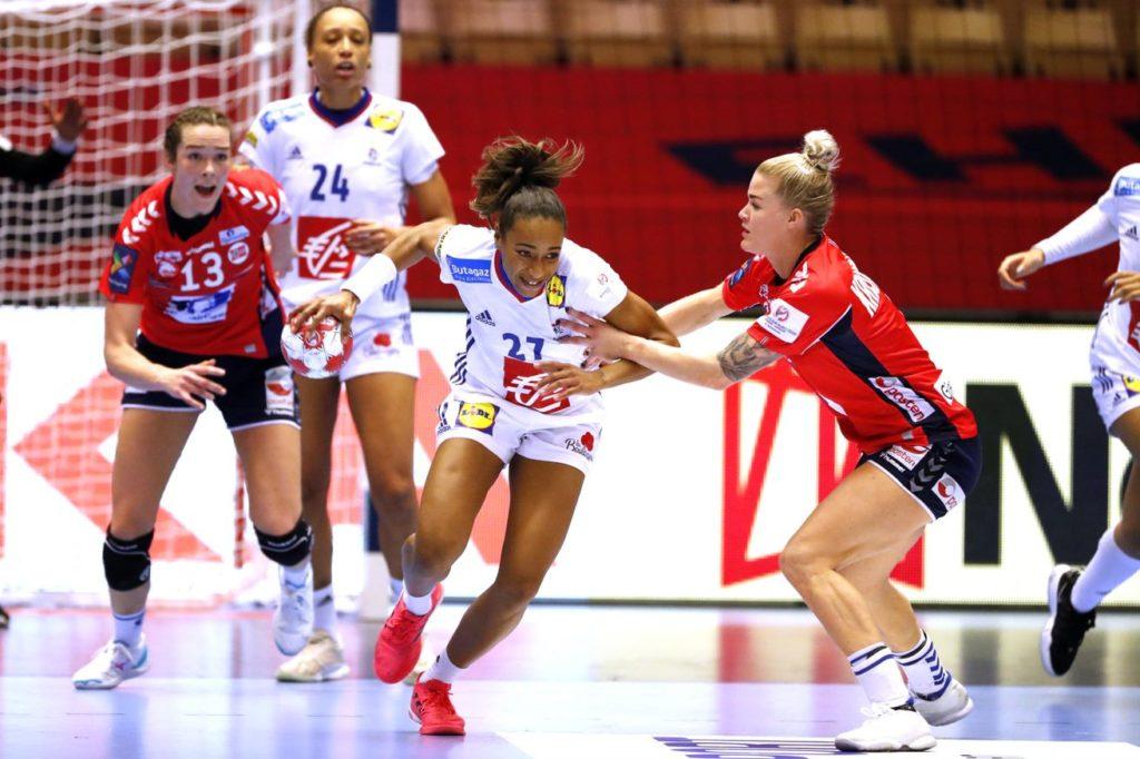 Estelle Nze Minko , élue MVP de l'euro 2020